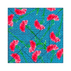Carnations Acrylic Tangram Puzzle (6  X 6 )