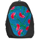 Carnations Backpack Bag Front