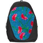 Carnations Backpack Bag Front