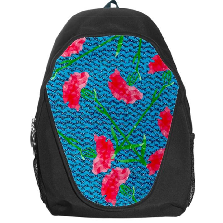 Carnations Backpack Bag