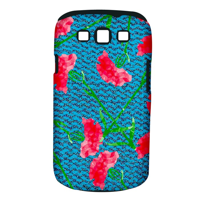 Carnations Samsung Galaxy S III Classic Hardshell Case (PC+Silicone)