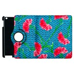 Carnations Apple iPad 2 Flip 360 Case Front