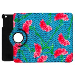Carnations Apple iPad Mini Flip 360 Case