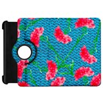 Carnations Kindle Fire HD Flip 360 Case Front