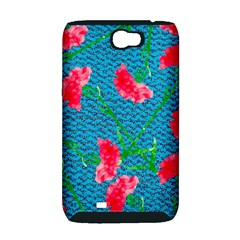 Carnations Samsung Galaxy Note 2 Hardshell Case (PC+Silicone)