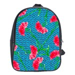 Carnations School Bags (XL)  Front