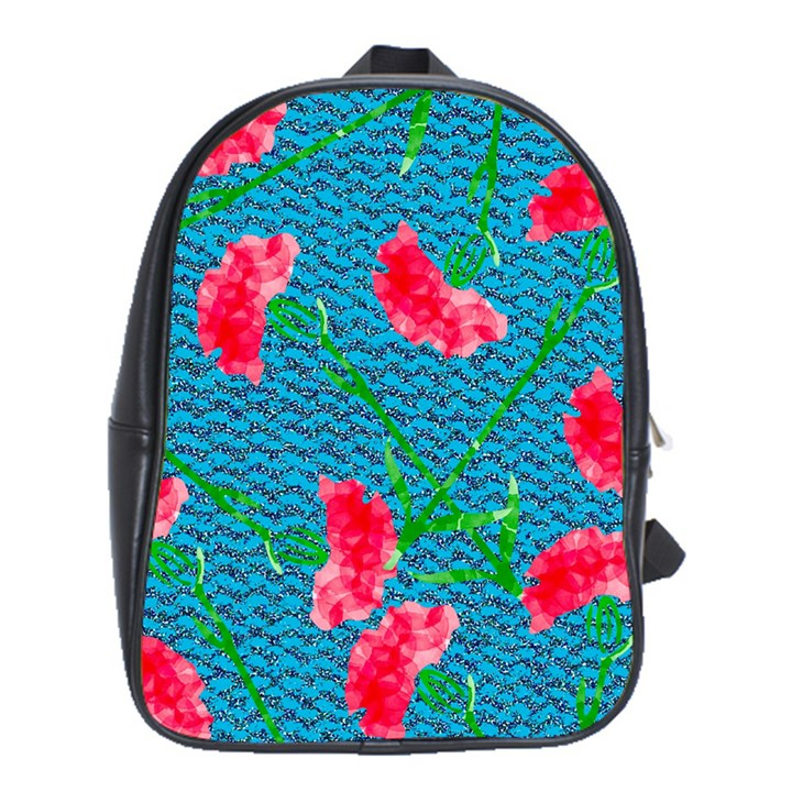 Carnations School Bags (XL)