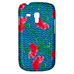 Carnations Samsung Galaxy S3 Mini I8190 Hardshell Case