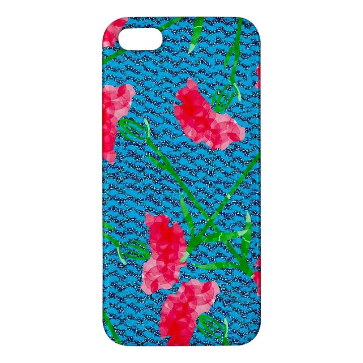 Carnations Apple iPhone 5 Premium Hardshell Case