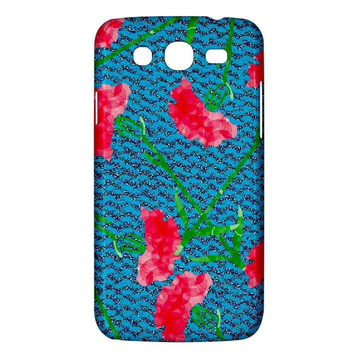 Carnations Samsung Galaxy Mega 5.8 I9152 Hardshell Case