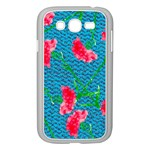 Carnations Samsung Galaxy Grand DUOS I9082 Case (White) Front