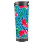 Carnations Travel Tumbler Right