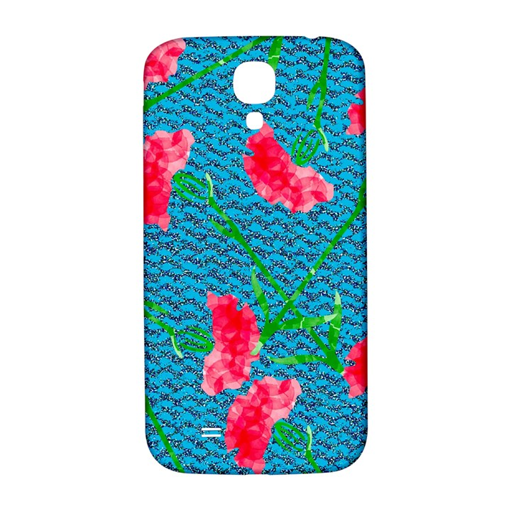 Carnations Samsung Galaxy S4 I9500/I9505  Hardshell Back Case