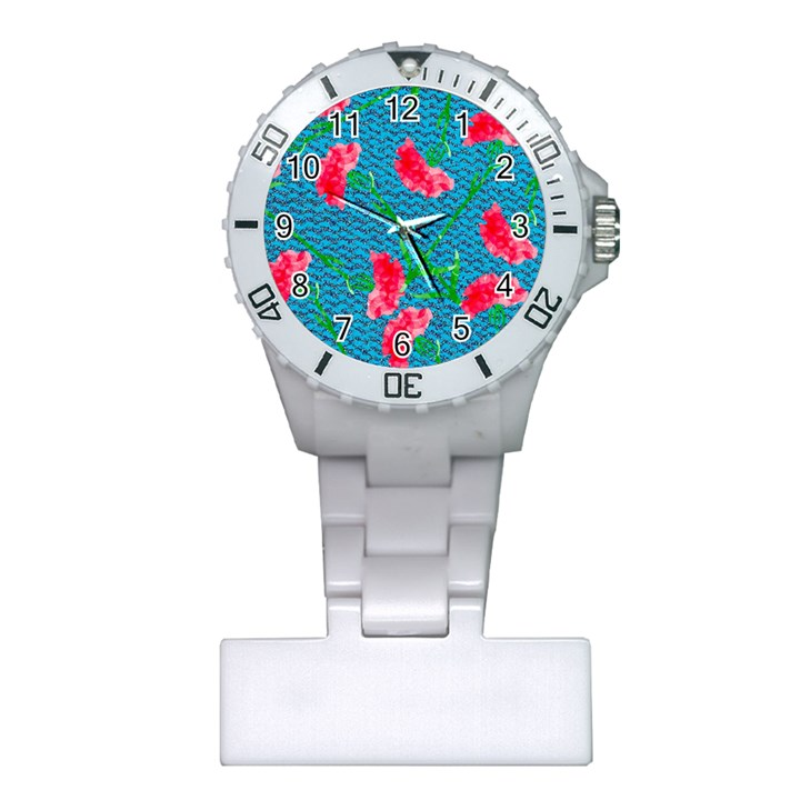 Carnations Plastic Nurses Watch