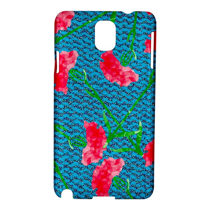 Carnations Samsung Galaxy Note 3 N9005 Hardshell Case