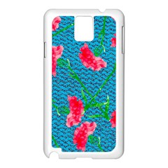 Carnations Samsung Galaxy Note 3 N9005 Case (white)