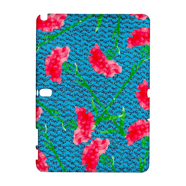 Carnations Samsung Galaxy Note 10.1 (P600) Hardshell Case