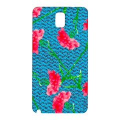 Carnations Samsung Galaxy Note 3 N9005 Hardshell Back Case