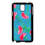 Carnations Samsung Galaxy Note 3 Neo Hardshell Case (Black) Front