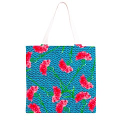 Carnations Grocery Light Tote Bag