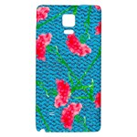 Carnations Galaxy Note 4 Back Case Front