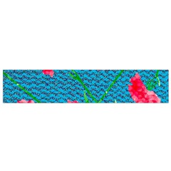 Carnations Flano Scarf (Small)