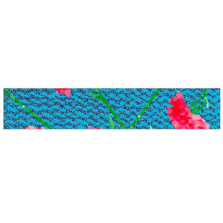 Carnations Flano Scarf (Large)