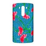 Carnations LG G3 Back Case Front
