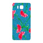 Carnations Samsung Galaxy Alpha Hardshell Back Case Front