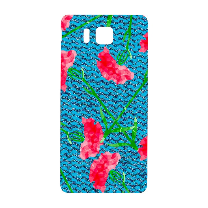 Carnations Samsung Galaxy Alpha Hardshell Back Case