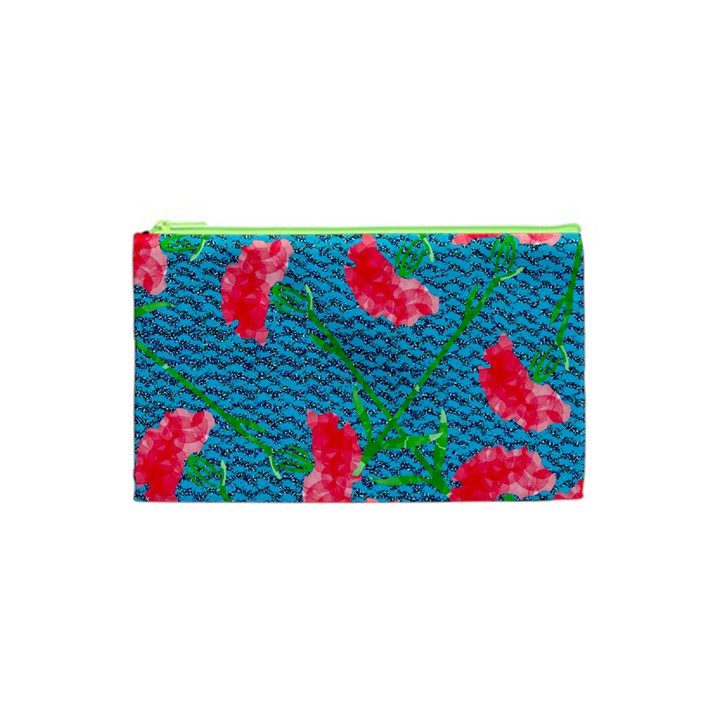 Carnations Cosmetic Bag (XS)