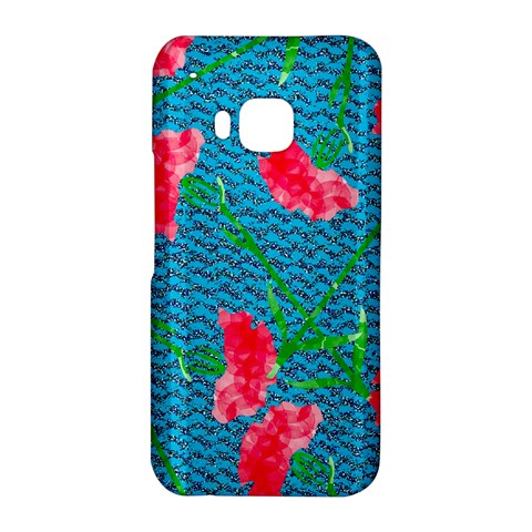 Carnations HTC One M9 Hardshell Case