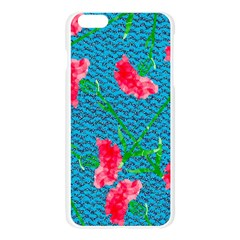 Carnations Apple Seamless iPhone 6 Plus/6S Plus Case (Transparent)