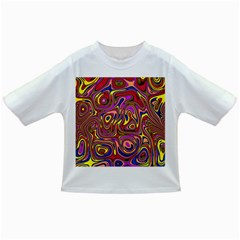 Abstract Shimmering Multicolor Swirly Infant/toddler T Shirts