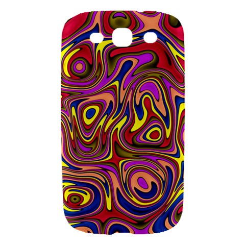 Abstract Shimmering Multicolor Swirly Samsung Galaxy S III Hardshell Case
