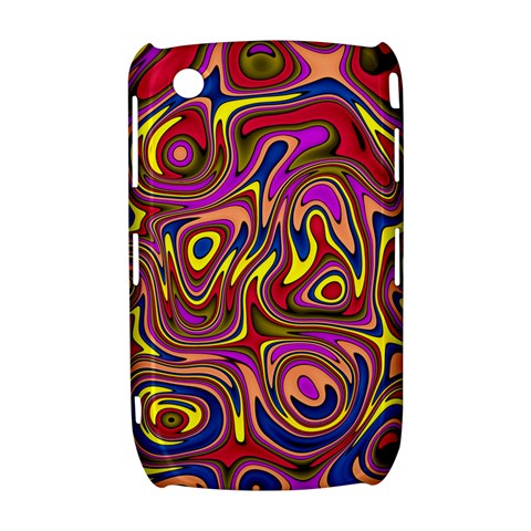 Abstract Shimmering Multicolor Swirly Curve 8520 9300