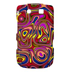Abstract Shimmering Multicolor Swirly Torch 9800 9810