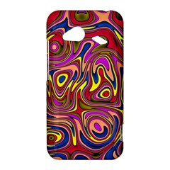 Abstract Shimmering Multicolor Swirly HTC Droid Incredible 4G LTE Hardshell Case