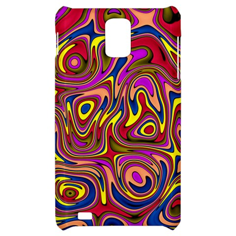 Abstract Shimmering Multicolor Swirly Samsung Infuse 4G Hardshell Case