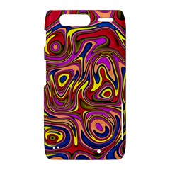 Abstract Shimmering Multicolor Swirly Motorola Droid Razr XT912