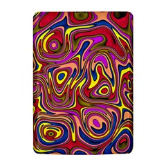 Abstract Shimmering Multicolor Swirly Kindle 4