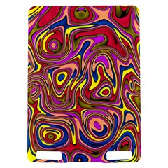 Abstract Shimmering Multicolor Swirly Kindle Touch 3G