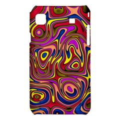 Abstract Shimmering Multicolor Swirly Samsung Galaxy S i9008 Hardshell Case