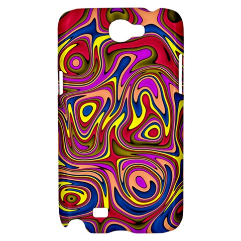 Abstract Shimmering Multicolor Swirly Samsung Galaxy Note 2 Hardshell Case