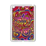 Abstract Shimmering Multicolor Swirly iPad Mini 2 Enamel Coated Cases Front
