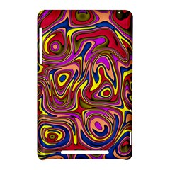 Abstract Shimmering Multicolor Swirly Nexus 7 (2012)