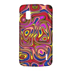 Abstract Shimmering Multicolor Swirly LG Nexus 4