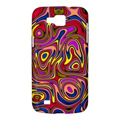Abstract Shimmering Multicolor Swirly Samsung Galaxy Premier I9260 Hardshell Case