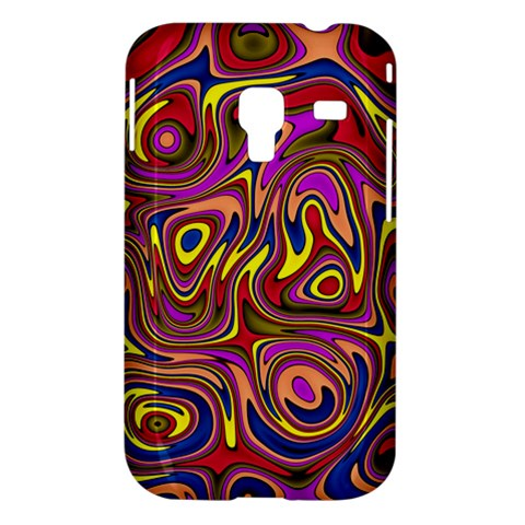 Abstract Shimmering Multicolor Swirly Samsung Galaxy Ace Plus S7500 Hardshell Case