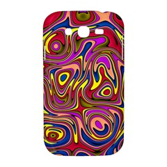 Abstract Shimmering Multicolor Swirly Samsung Galaxy Grand DUOS I9082 Hardshell Case